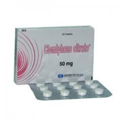 Clomiphene Citrate Anfarm Hellas 24 compresse [50mg/scheda]