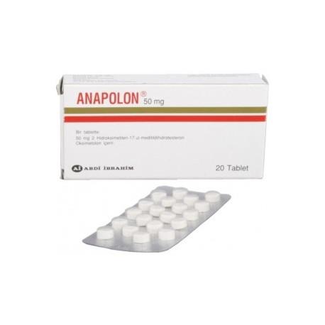 que es anapolon 50 mg