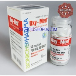 Oxy-Med Bioniche Pharma (Oxymethlone,Anadrol) 120tabs (50mg/tab)