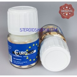 Turinabol 10mg  Euromed, 100 tablets (10mg/tab)
