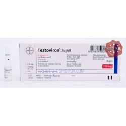 Amp de 1ml de testoviron Depot Bayer [250mg / 1ml]