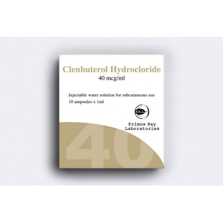 Clenbuterol Hydrochloride Injectable Primus Ray 10X1ML [40mcg/ml]