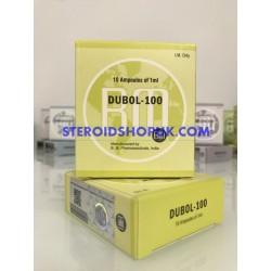 Decadubol 100 BM Pharmaceuticals (Nandrolone Decanoate) 10 amps (10X1ML/100MG)
