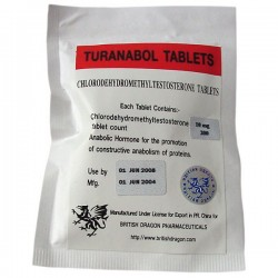 Turanabol Tablets British Dragon 200 tabs [10mg/tab]