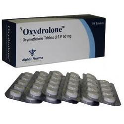 Alpha Pharma Oxydrolone 50