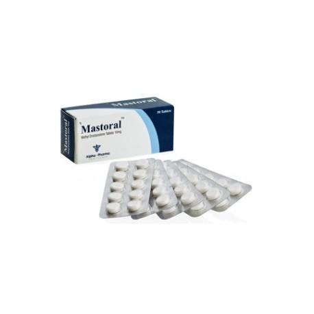 Mastoral Alpha Pharma 50 compresse [10mg/scheda]