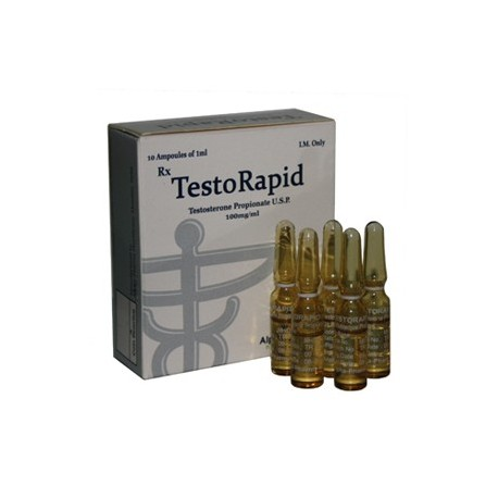 TestoRapid Alpha Pharma [100mg / 1ml]
