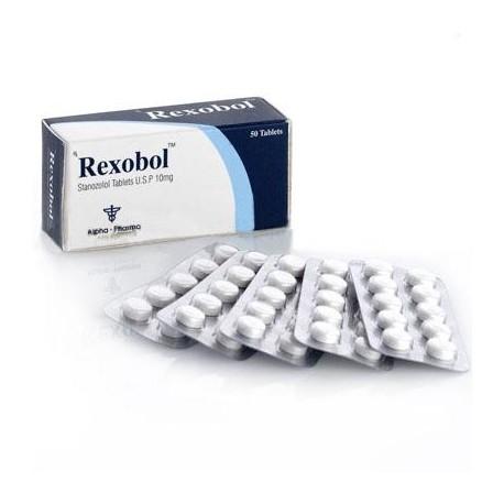 Rexobol 10 mg Alpha Pharma (Winstrol)