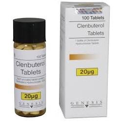 Génesis de Clenbuterol tabletas