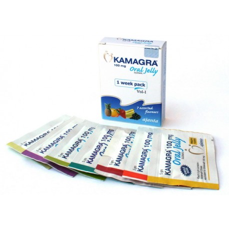 Kamagra Oral Jelly 100mg Sachet