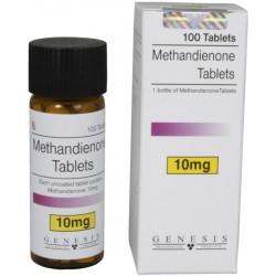 Methandienone Genesis de comprimés 10mg