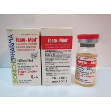 Letras-Med Bioniche farmacia (Testosterone Mix) 10ml (400mg/ml)