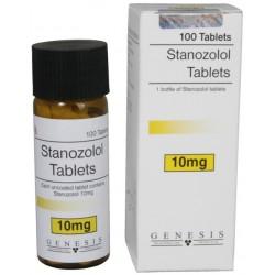 Stanozolol Tablets Genesis [10mg/scheda]