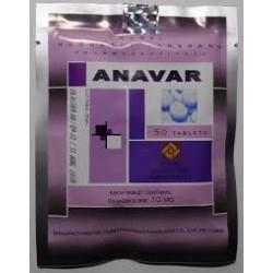 Anavar Hubei 10mg oxandrolone 50 tabs