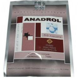 Anadrol Hubei 10mg (oxymentholone) 50 tabs