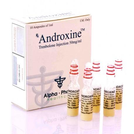 Androxine Alpha Pharma (base de trenbolone)
