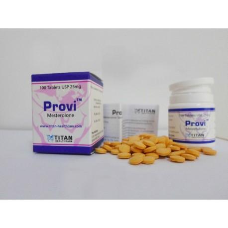 Provi Titan HealthCare (Proviron, mestérolone) 100tabs (25mg/CP)