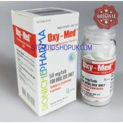 Oxy-Med Bioniche Pharma (Oxymethlone, Anadrol) 60tabs (50mg/tab)