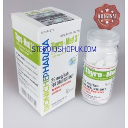 Thyro-Med 3 Bioniche Pharma (triiodotironina) 60tabs (25mcg/scheda)