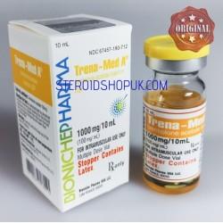 Trena-Med un Bioniche Pharma (acetato de trembolona) 10ml (100mg/ml)