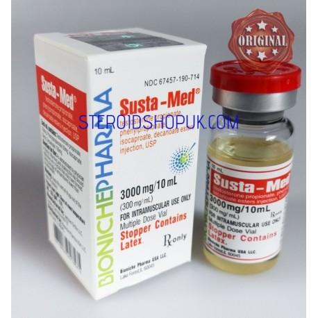 Susta-Med Bioniche farmacia (Sustanon) da 10ml (300mg/ml)