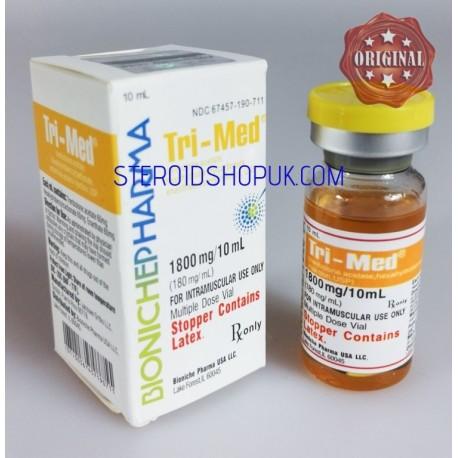 Tri-Med Bioniche Pharmacy (3 Trenbolones) 10ml (180mg/ml)