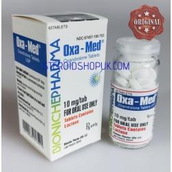 OXA-Med farmacia Bioniche (Anavar, Oxandrolone) 60tabs (10mg/scheda)