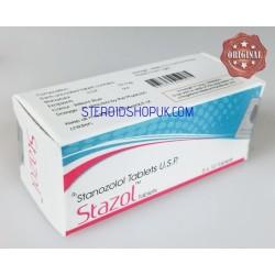 Stazol Tablets Shree Venkatesh (Winstrol, Stanozolol) 50tabs (10mg/tab)