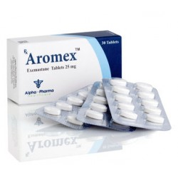 Aromex Alpha Pharma 25 mg (exemastane) 30 tabletas