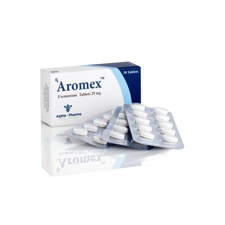 AROMEX Alpha Pharma 25mg (exemastane) 30tabs