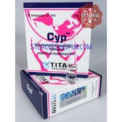 Cyp Titan HealthCare (Cypionate de testostérone)