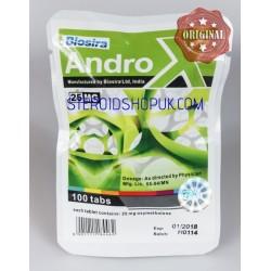 Androx Biosira (Anadrol, Oxymethlone) 100tabs (25mg/CP)