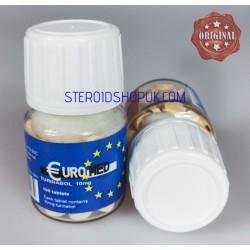 Turinabol Euromed, de 10mg 100 comprimidos (10mg/tab)
