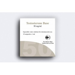 Testobase (suspension de testostérone) Primus Ray 10x1ML [50mg / tab]