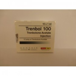 Trenbol 100 Genesis 10 amps [10x100mg/1ml]