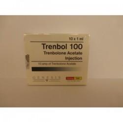Trenbol 100 Genesis 10 amps [10x100mg / 1ml]