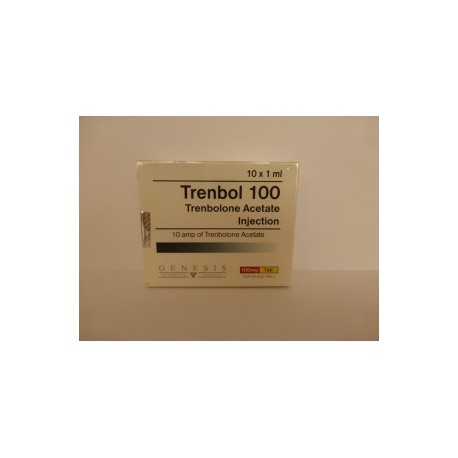 Trenbol 100 Genesis 10 ampères [10x100mg / 1ml]