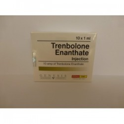 Flacon de 10ml de trenbolone Enanthate Injection Genesis [200mg / 1ml]