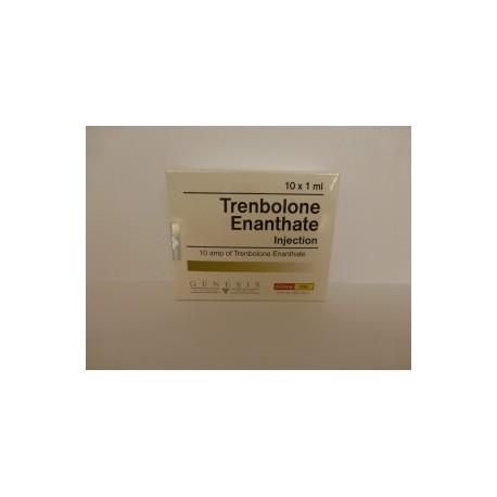 Flacon de 10ml de trenbolone Enanthate Injection Genesis [200mg / 1ml]