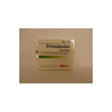Primobolan Injection Genesis 10 ampères [10x100mg / 1ml]