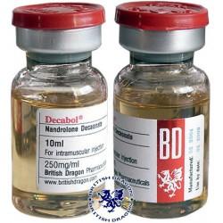 Decabol 250 British Dragon 10ml vial [250mg/1ml]