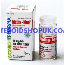 Metha-Med Bioniche 120 comprimés [10 mg / onglet]