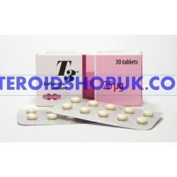 T3 UNI-Pharma Greece 30 tabs [25 mcg / tab]