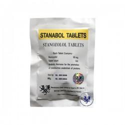 Stanabol Tablets British Dragon 100 tabs [10mg/tab]