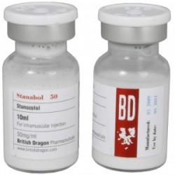 Stanabol 50 British Dragon 10ml vial [50mg/1ml]
