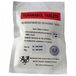Turanabol Tablets British Dragon 200 tabs [10mg/tab]