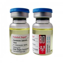 Testabol Depot British Dragon 10ml vial [200mg/1ml]