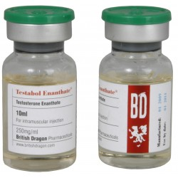 Flaconcino da 10ml Testabol Enanthate British Dragon [250mg/1ml]
