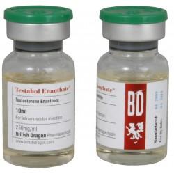 Testabol Enanthate British Dragon 10ml vial [250mg/1ml]