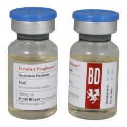 Testabol Propionate British Dragon 10ml vial [100mg/1ml]